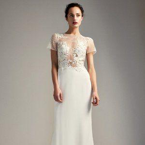 Tadashi Shoji Tanya Wedding Dress NWT (Size 8)